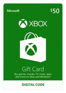 Xbox Live Gift Card 50 USD (US) za Xbox 360 | Xbox One | PC