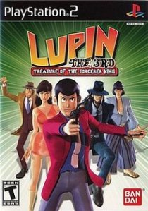 Rabljeno: Lupin the 3rd Treasure of the sorcerer king (Playstation 2)