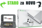 Staro za novo: Tvoj New Nintendo 3DS XL za Xbox One Slim 500GB + 140 iger + bon 30€