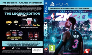 NBA 2K20 Legend Edition (PlayStation 4)