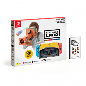 Nintendo Labo VR Kit Starter Set plus Blaster