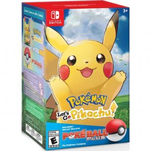 Pokemon Lets Go Pikachu in Pokeball Limited Edition (Nintendo Switch)