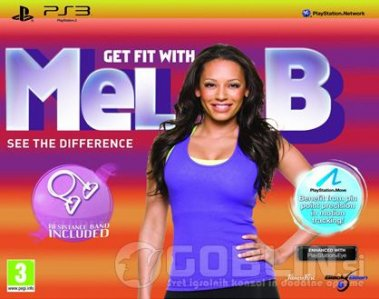 Rabljeno: Get Fit With Mel B - Move Compatible (PlayStation 3)