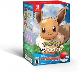Pokemon Lets Go in Pokeball Limited Edition (Nintendo Switch)