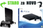Staro za novo: Tvoj PlayStation 2 Slim za PlayStation 4 Slim 500GB + bon 30€ (PS4)
