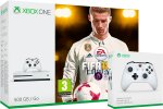 Xbox One Slim 500GB + FIFA 18 + 2x kontroler + 140 iger + bon 30€