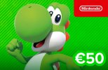 Nintendo eShop Card 50 EUR (EU) Switch | Wii U | 3DS | 2DS