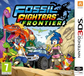 Rabljeno: Fossil Fighters Frontier (Nintendo 3DS)