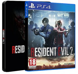 Resident Evil 2 Steelbook Edition (Playstation 4)