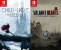 Child of Light and Valiant Hearts (Nintendo Switch)