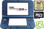 New Nintendo 3DS XL metalno moder + R4 3DS Gold v2017 + SD 4GB + napajalnik