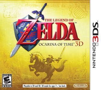 Rabljeno: The Legend of Zelda: Ocarina of Time 3D (Nintendo 3DS)