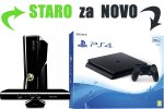 Staro za novo: Tvoj Xbox 360 Slim Kinect za PlayStation 4 Slim 500GB + bon 30€ (PS4)