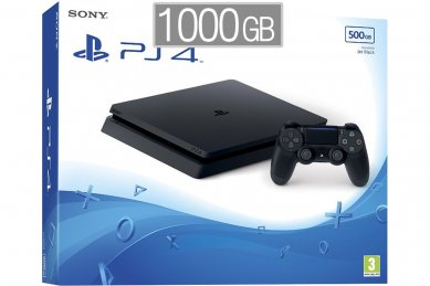 PlayStation 4 Slim 1000GB HDR VR Ready + PS4 igra + bon 30€ (PS4 Slim 1TB)