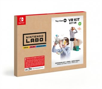 Nintendo Labo VR Kit Bird plus Wind Pedal