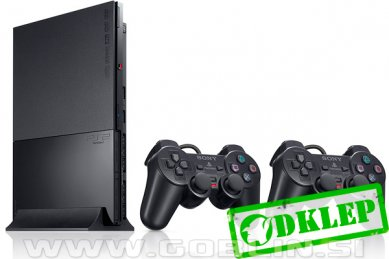 Rabljeno: PlayStation 2 Slim (PS2) + Modbo 5.0 + 2x kontroler + PS2 igra + 1 leto garancije