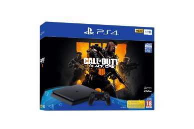 PlayStation 4 Slim 1000GB HDR +Call Of Duty Black Ops IIII + bon 30€ (PS4 Slim)