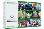 Xbox One Slim 1000GB + 295 iger + Xbox Live Gold + bon 30€ (Xbox One S 1TB)