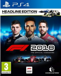 Formula 1 2018 Headline Edition - F1 2018 (Playstation 4)