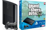 Rabljeno: PlayStation 3 Super Slim 60GB + Grand Theft Auto 5 + 1 leto garancije