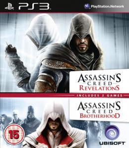 Rabljeno: Assassins Creed Brotherhood and Assassins Creed Revelations Double Pack (Playstation 3)