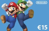 Nintendo eShop Card 15 EUR (EU) Switch | Wii U | 3DS | 2DS