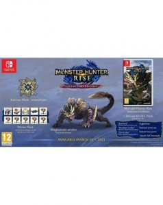 Monster Hunter Rise Collectors Edition (Nintedo SWITCH)
