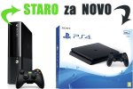 Staro za novo: Tvoj Xbox 360 Slim za PlayStation 4 Slim 500GB + bon 30€ (PS4)