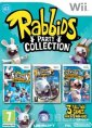 Rabbids Party Collection Triple Pack (Rayman Raving Rabbids + Rabbids 2 + TV Party) (Nintendo Wii)