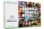 Xbox One Slim 1000GB + Grand Theft Auto 5 + 225 iger + Xbox Live Gold + bon 30€
