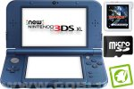 New Nintendo 3DS XL metalno moder + Sky3DS + SD 4GB + napajalnik