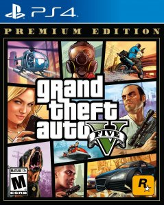 GTA 5 Ultimate Trollgang Online Edition + plakat (PlayStation 4)