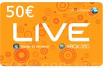 Xbox Live Gift Card 50 EUR (EU) za Xbox 360 | Xbox One | PC