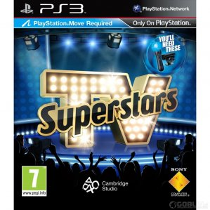 TV Superstars - Move Compatible (PlayStation 3 rabljeno)