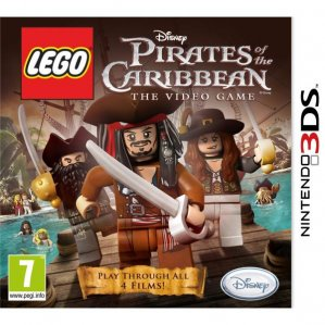 Rabljeno: Lego Pirates of the Caribbean The Video Game (3DS)