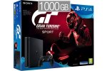 PlayStation 4 Slim 1000GB HDR VR Ready + Gran Turismo Sport + bon 30€ (PS4 Slim)