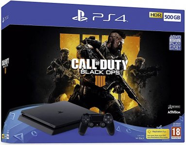 PlayStation 4 Slim 1000GB HDR VR Ready + Call of Duty Black Ops 4 + bon 30€ (PS4 Slim)