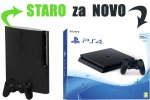 Staro za novo: Tvoj PlayStation 3 Slim za PlayStation 4 Slim 500GB + bon 30€ (PS4)