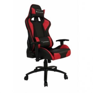 Gamerski Stol UVI Chair DEVIL, rdeč