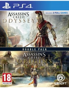 Assassins Creed Odyssey + Origins (Playstation 4)