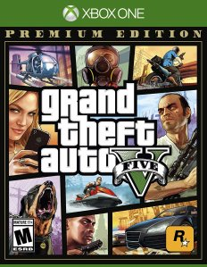 GTA 5 Ultimate Trollgang Online Edition + plakat (Xbox One)