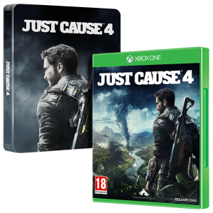 Just Cause 4 Steelbook Edition (Xbox One rabljeno)