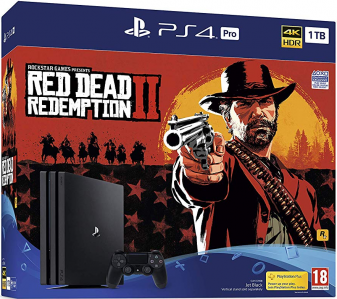 PlayStation 4 Pro 1000GB HDR VR Ready + Red Dead Redemption 2 + bon 50€ (PS4 Pro 1TB)