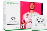 Xbox One Slim 1000GB + FIFA 20 + 2x kontroler + 225 iger + bon 30€