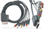 Xbox 360 HD komponentni + kompozitni avdio video kabel za TV