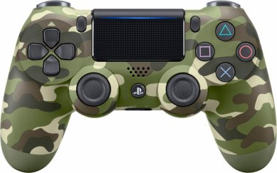 PS4 DualShock 4 brezžični kontroler v2 Green Camouflage (2017 model)