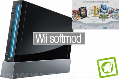 Wii softmod USB Loader GX + NeoGamma + mPlayer + brskalnik
