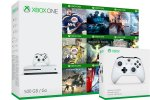 Xbox One Slim 1000GB + 2x kontroler + 295 iger + Xbox Live Gold + bon 30€ (Xbox One S 1TB)