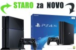 Staro za novo: Tvoj PlayStation 4 500GB za PlayStation 4 Pro 1000GB HDR VR Ready + bon 50€