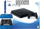 PlayStation 4 Slim 1000GB + 2x kontroler + bon 30€ (PS4 Slim 1TB)
